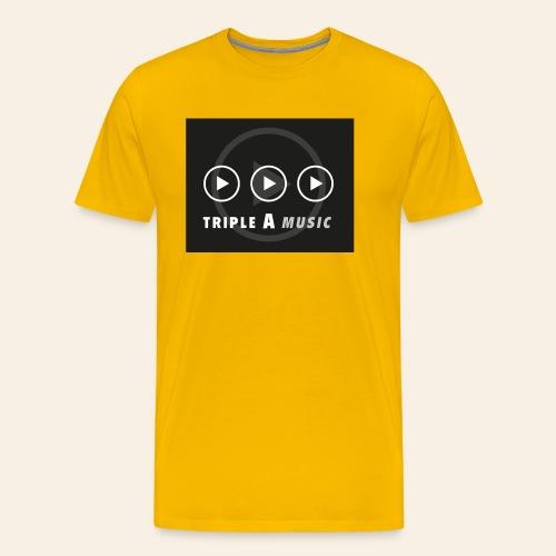 Triple A Music - Mannen Premium T-shirt