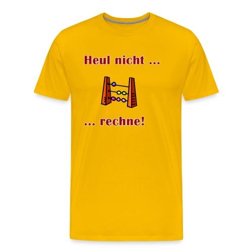 rechne - Männer Premium T-Shirt