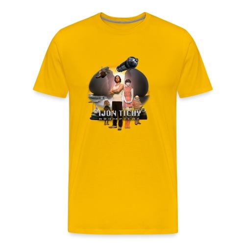 tichy t shirt plakatklein - Männer Premium T-Shirt