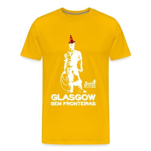 Glasgow Without Borders Brazil Rio Grande do Sul - Men's Premium T-Shirt