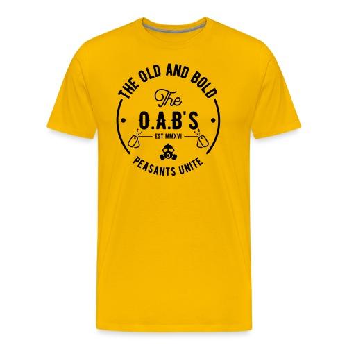 OAB unite black - Men's Premium T-Shirt