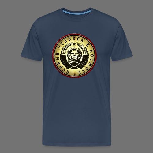 Cosmonaut 4c retro - Men's Premium T-Shirt