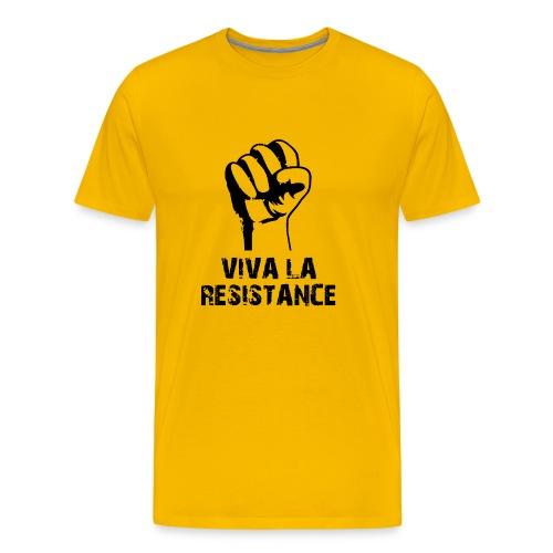 Vive La Resistance Logo - Men's Premium T-Shirt