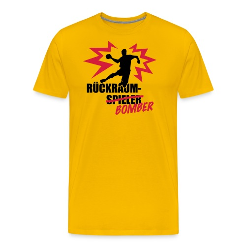 Rückraumbomber - Männer Premium T-Shirt