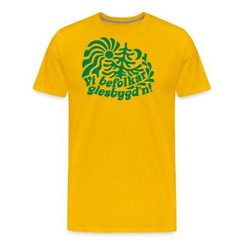 GLESGYGD'N - Premium-T-shirt herr