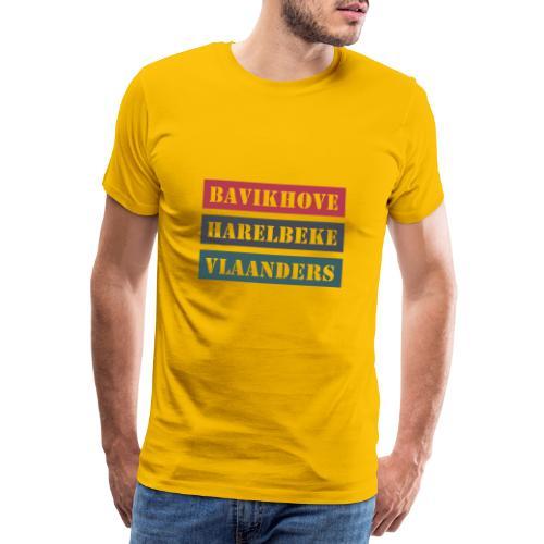 Bavikhove Harelbeke - Mannen Premium T-shirt
