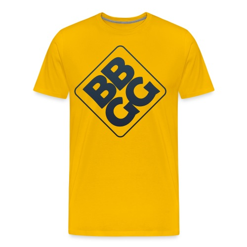 BBGG Logo Blue - Men's Premium T-Shirt
