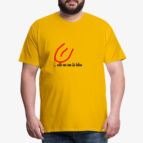 eis lecken - Männer Premium T-Shirt