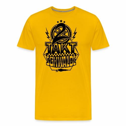 2-Takt-Schwalbe / Zweitaktschwalbe - Men's Premium T-Shirt