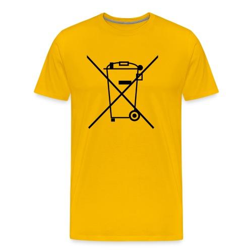 Separate Collection - Mannen Premium T-shirt