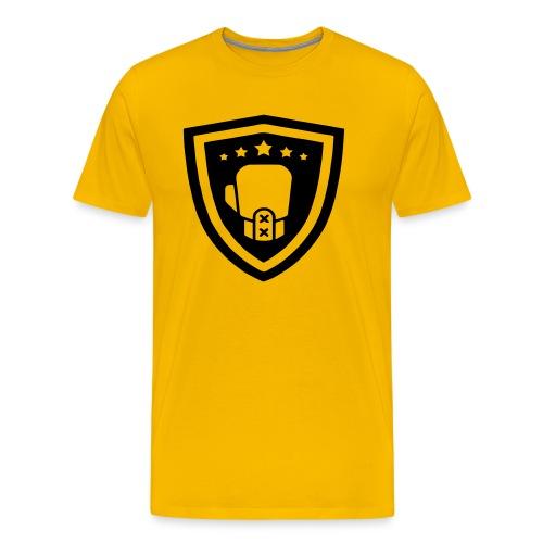 mitch gym schild - Mannen Premium T-shirt