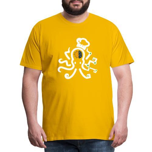DT3 Octopus - White - Männer Premium T-Shirt