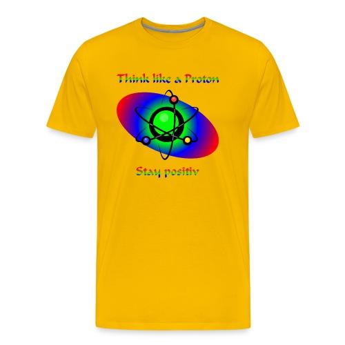 stayPositiv - Männer Premium T-Shirt