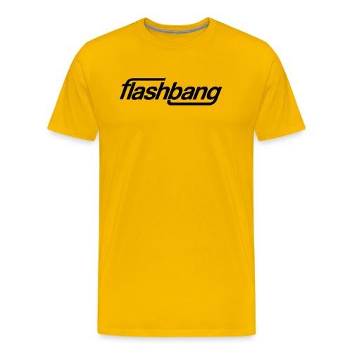 FlashBang Enkel - 100kr Donation - Premium-T-shirt herr