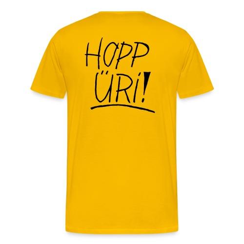 Hopp Üri - Männer Premium T-Shirt