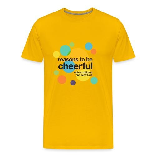 RTBC logo + names (light background) - Men's Premium T-Shirt