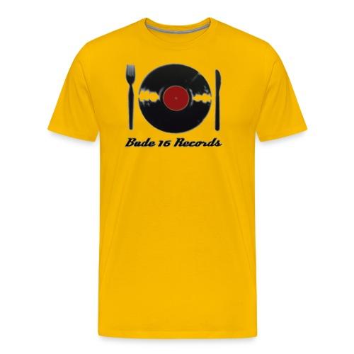 Bude 16 Records Logo png - Männer Premium T-Shirt