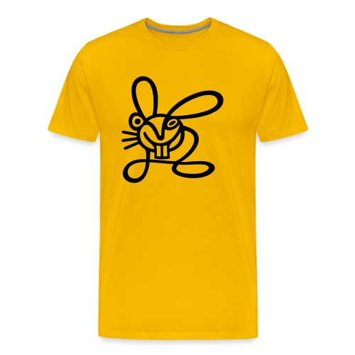 Strichhase - Männer Premium T-Shirt