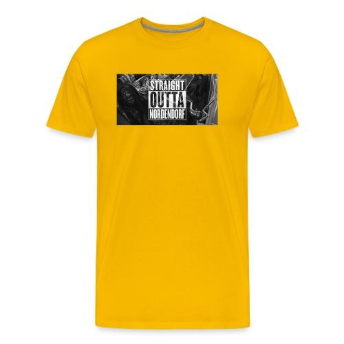 Straight Outta Nordendorf - Männer Premium T-Shirt