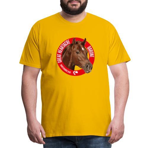 GREAT HEARTACRE - BARONE - Maglietta Premium da uomo