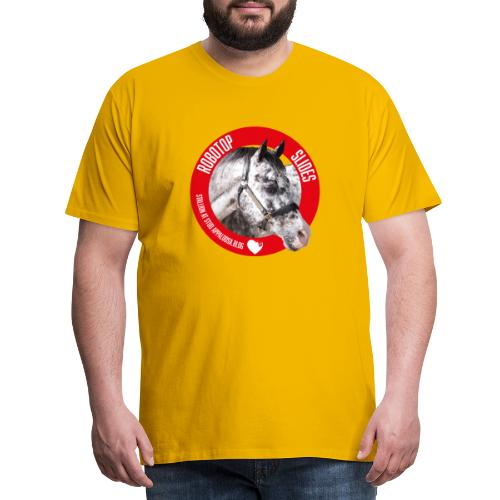 ROBOTOP SLIDES - Maglietta Premium da uomo