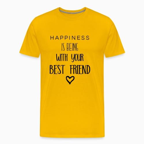 Happiness black edition - Men's Premium T-Shirt