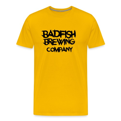 BadFish + Logo - T-shirt Premium Homme