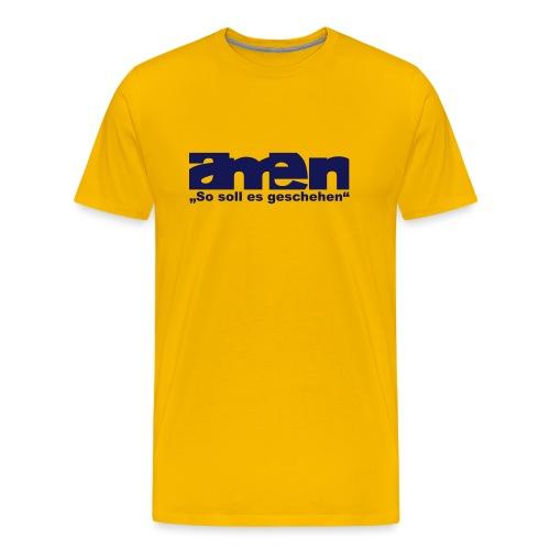 amen - Männer Premium T-Shirt