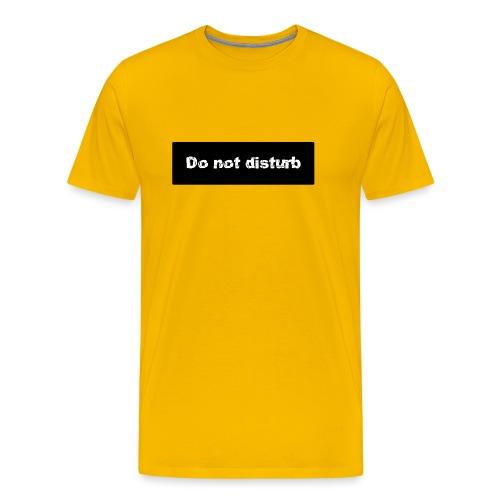 Do not distubing - Camiseta premium hombre