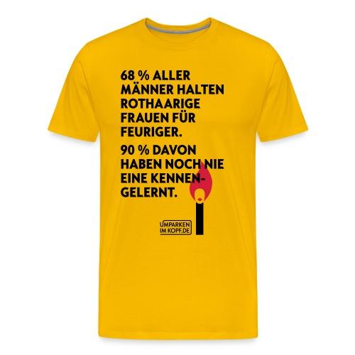 Rothaarige - Männer Premium T-Shirt