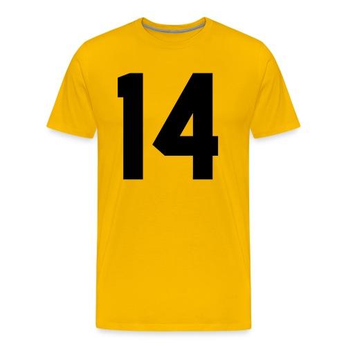 14 - Mannen Premium T-shirt