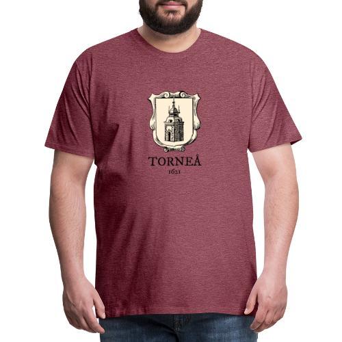 Torneå 1621 - Miesten premium t-paita