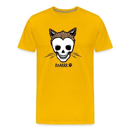 Wild-Katzen-Liebe - Männer Premium T-Shirt