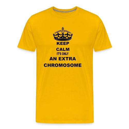 Extrachromosome1 - Mannen Premium T-shirt