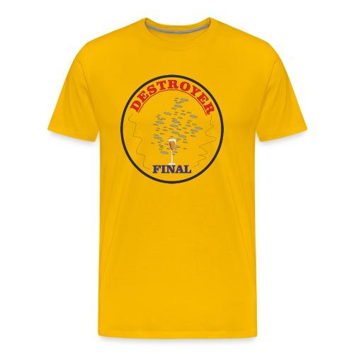 destruccion - Camiseta premium hombre