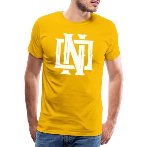 Nineone Monogram NO 02 white - Männer Premium T-Shirt