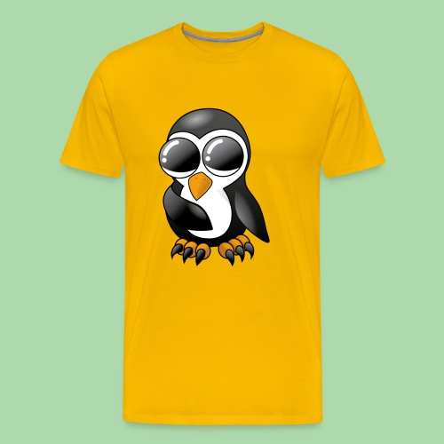 Pengu der keine Pinguin - Männer Premium T-Shirt