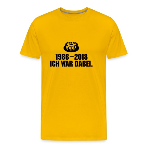 1986-2018 - Männer Premium T-Shirt