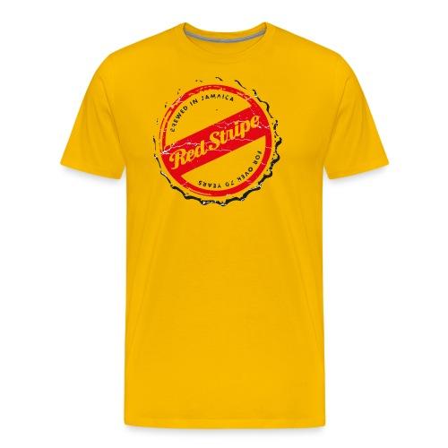 red stripe logo - Männer Premium T-Shirt