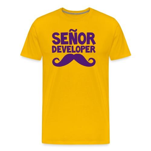 senor comic - Men's Premium T-Shirt
