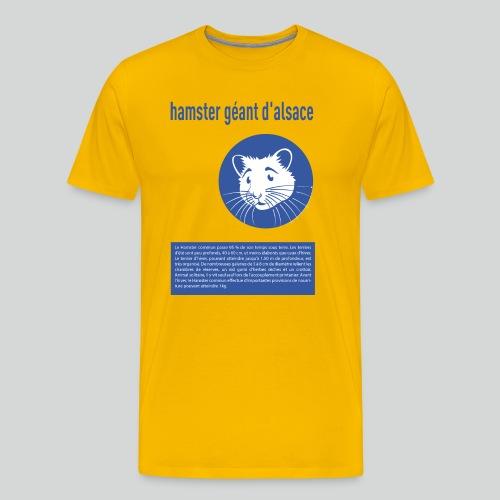 hamster geant d alsace - T-shirt Premium Homme