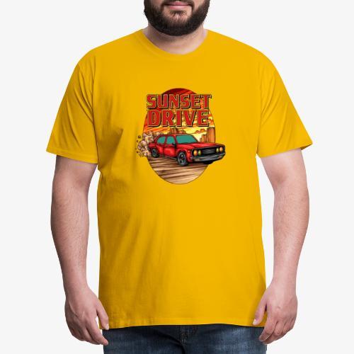 Sunset Drive - T-shirt Premium Homme