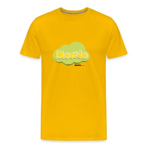 Momio-logo - Miesten premium t-paita