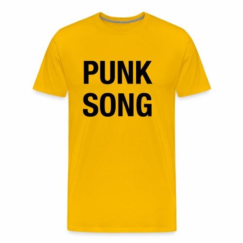 PUNK SONG - Men's Premium T-Shirt
