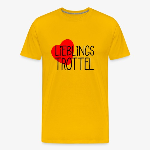 Lieblings-Trottel Geschenkidee Valentinstag - Männer Premium T-Shirt