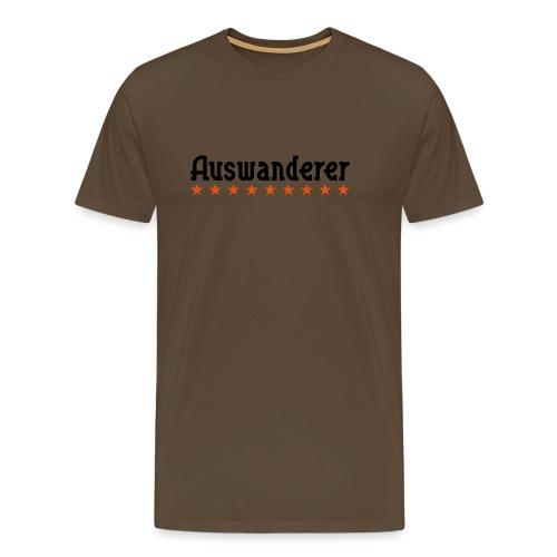 Auswanderer - Männer Premium T-Shirt