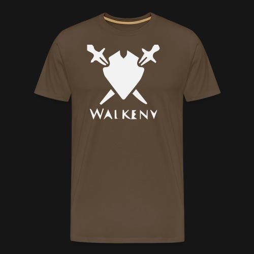 Walkeny Schwert Logo! - Männer Premium T-Shirt