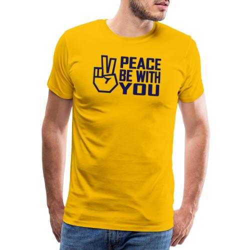 PEACE BE WITH YOU - Men's Premium T-Shirt