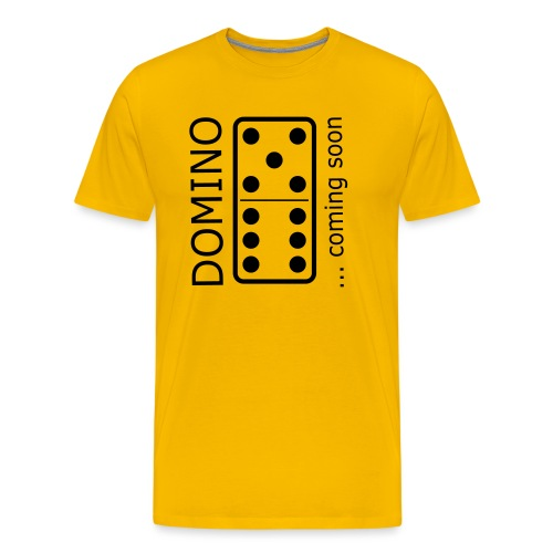 domino11 coming soon - Männer Premium T-Shirt