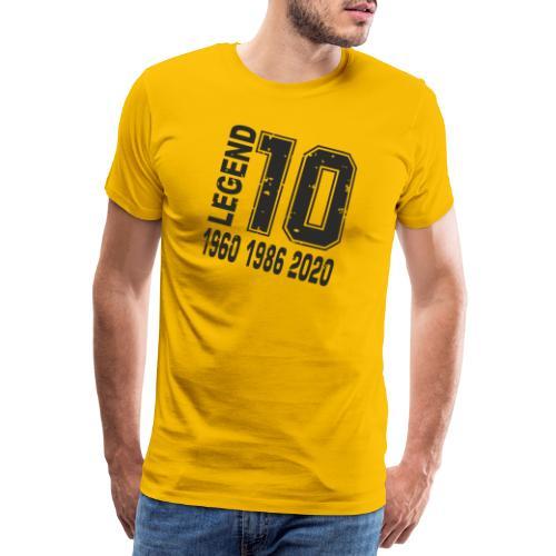 Legend 10 - Camiseta premium hombre